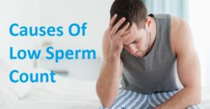 Causes of low sperm count and watery sperms